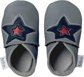 Bobux - Soft Soles babyslofjes - Astro Star Grey - Maat S