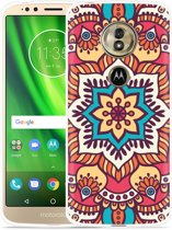 Moto G6 Play hoesje Mandala Hippie