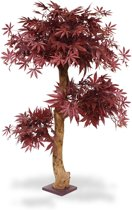 Acer Bonsai kunstboom 95 cm burgundy