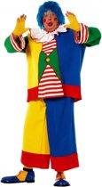 Grote maat clowns kostuum voor heren 58 (3XL)