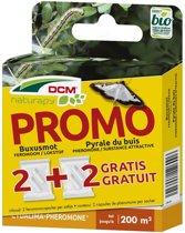 DCM Mottenval + GRATIS 2 buxusmot feromoon naturapy