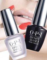 OPI infinite shine base coat & top glans coat