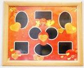 Fotoframe Hartjes 46 CM X 56 CM