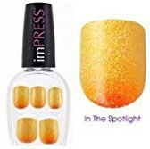 KISS Broadway nails press-on manicure  24 nails covers 12 sizes BIPD0260  In the spotlight   short no glue
