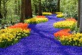 Papermoon Spring Flowers Vlies Fotobehang 400x260cm 8-Banen