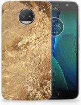 Motorola Moto G5S Plus TPU Hoesje Design Marmer