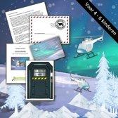 Escape Room voor kinderen - Expeditie Noordpool - kinderfeestje - voor maximaal 6 kinderen - breinbreker - 8 t/m 12 jaar