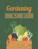 Gardening Journal Planner Log Book