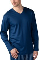 Mey Basic Lounge Shirt Lange Mouw Heren 20720 - 52 - Blauw