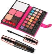 Make up Set 33 kleuren inclusief 4D Silk Fiber Xpress Control – Lash Extension Mascara **
