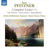 Pfitzner: Complete Lieder 1