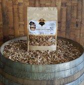 Mr Barrel BBQ snippers zoete witte wijnvaten 1000gr