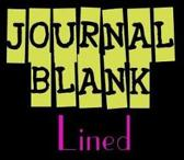 Journal Blank Lined