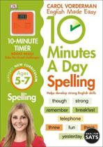 10 Minutes A Day Spelling Ages 5-7 Key Stage 1