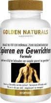 Golden Naturals Spieren & Gewrichten (60 capsules)