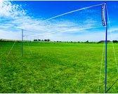 Hudora Volleybal-/badmintonset