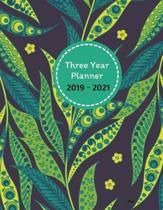 Three Year Planner 2019 - 2021 Priya