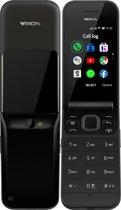 Nokia 2720 Flip - Dual sim - Zwart