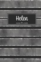 Helen 2020 Planer: A5 Minimalistischer Kalender Terminplaner Jahreskalender Terminkalender Taschenkalender mit Wochen�bersicht