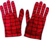 Spiderman ™ handschoenen voor volwassenen - Verkleedattribuut - One size