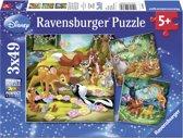 Ravensburger Bambi, Balou en Simba puzzels
