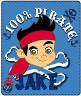 Jake and the neverland pirates - Plaid jake - Fleece - 120 x 140 cm - Multi