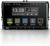 Radical R-C10VW1 Pasklare Android autoradio voor VW Golf 5, Golf 6, Caddy, T5, Passat, Polo.