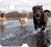 Samsung Galaxy J5 Uniek Design Hoesje Honden