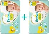 Pampers New Baby - Maat 2 - 4-8kg - Grootverpakking 82 stuks (2x41) - Luiers