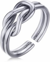 Cilla Jewels ring Infinity Knot Silver Matte-16mm