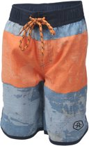 Color Kids  Nillo Beach  Zwembroek - Maat 128  - Jongens - blauw/oranje/navy