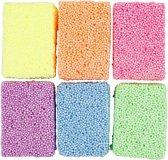 Soft Foam, kleuren assorti, 6x10gr