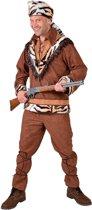 Indiaan Kostuum   Tijger Jager Avonturier   Man   Medium   Carnaval kostuum   Verkleedkleding