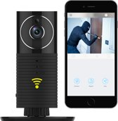 CleverDog WiFi camera - Panorama - Night vision  - Zwart