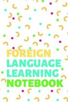 Foreign Language Learning Notebook
