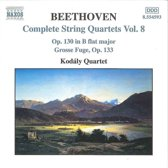 Beethoven: String Quart. Vol.8