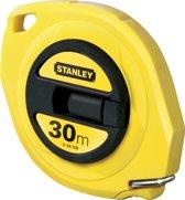STANLEY Landmeter Staal 30m - 9,5mm gesloten kast 0-34-108