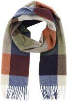 Profuomo sjaal groen geblokt_ONESIZE, maat One size