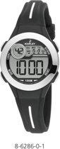 Nowley 8-6286-0-1 digitaal horloge 30 mm 100 meter zwart