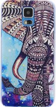 Xccess Cover Samsung Galaxy S5/S5 Plus Blue Elephant