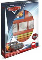 Multiprint Disney Cars - box - 4 stempels + 7 stiften