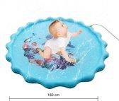 Baby Opblaasbare Waterspeelmat - Hoge Kwaliteit - Baby Trainer - Water Speelmat - Baby Shower - Kraamcadeau - Water speelmat - Tummy Time - Speelkleed Aquamat - Speelgoed - Watermat