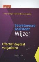 Management support - Effectief digitaal vergaderen Secretaresse assistent wijzer