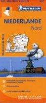 Michelin Regionalkarte Niederlande Nord 1 : 200 000