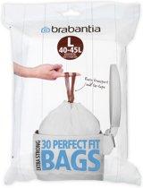 Brabantia Perfect Fit Afvalzakken - 40/45 l - Code L - 30 stuks