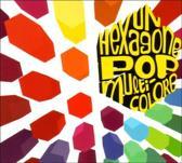 Un Hexagone Pop Multicolore