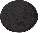Tapijtkeuze Karpet Batan - 133 cm rond - Zwart