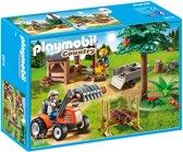 Playmobil Houthakker met tractor - 6814