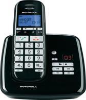 Motorola S3011 Uitgebreide Senioren Single Set - BE - DECT Telefoon - met Antwoordapparaat - Zwart