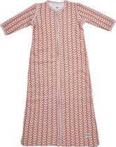 Meyco Knitted Heart Slaapzak met afritsbare mouw - 90 cm